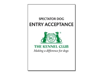 Spectator dog book cover