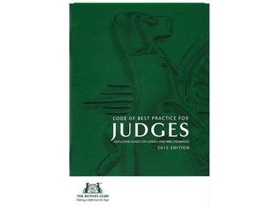 Code of Best Practice for Judges and Stewards cover