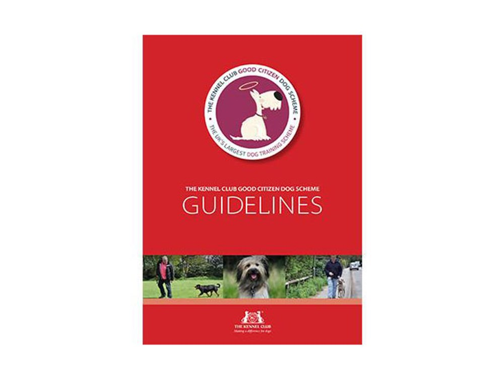 Good Citizen Dog Scheme Guidelines cover